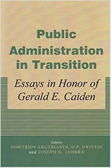 Papers Public Administration