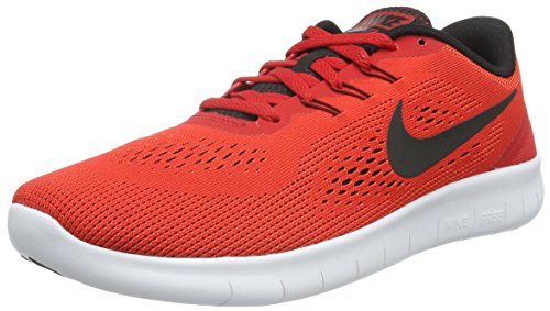 Nike Free RN GS Red Running Shoes (5.5 UK/India)  available at amazon for Rs.3971