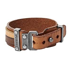 Fossil Jewelry Herren-Armband Edelstahl braun JA5925716