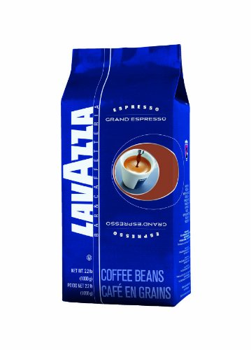 Lavazza Grand Espresso Whole Bean Coffee, 2.2 Pound Bag