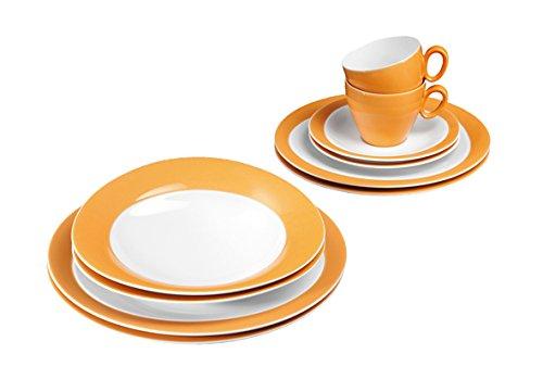 tafelservice orange preisvergleiche erfahrungsberichte und kauf bei nextag. Black Bedroom Furniture Sets. Home Design Ideas