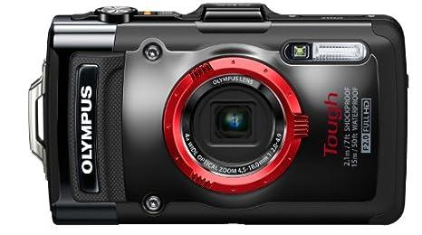 OLYMPUS デジタルカメラ STYLUS TG-2 ブラック 1200万画素CMOS 15m防水 2.1m耐落下衝撃性能 -10℃耐低温 100kgf耐荷重 TG-2 BLK