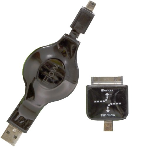 digital-treasures-iflow-cable-de-datos-y-carga-para-dispositivos-electronicos-usb-a-mini-usb-micro-u