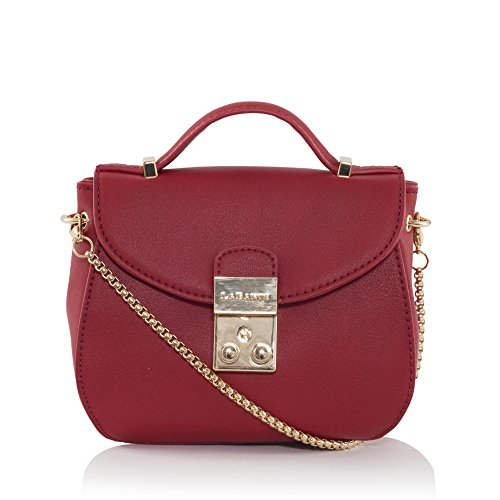 "Marrone ""Snowberry Across Body Bag, rosso"