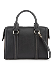 M&S Collection Panelled Bowler Bag