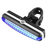 New Front Rear Tail Light Headlight Lamp USB Rechargeable LED Bike Bicycle Cycling,Nacome (Blue)