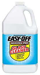 Easy Off Professional Ammonia-Free Glass Cleaner Concentrate, 128 Ounce (Pack of 4)
