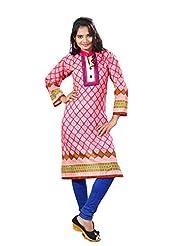 Arista Designer Ready To Wear Pink Kurti Size - 38 (KR90)