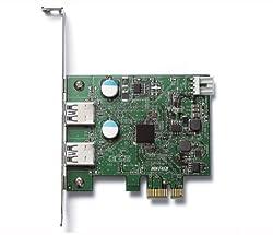 Buffalo Technology SuperSpeed USB 3.0 PCI Express 2-Port Interface Card IFC-PCIE2U3