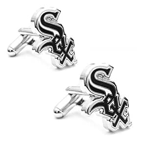 MLB Chicago White Sox Team Logo Cufflinks by Football Fanatics