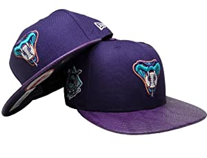 Arizona Diamondbacks New Era Strapback with Snakeskin Visor by New Era