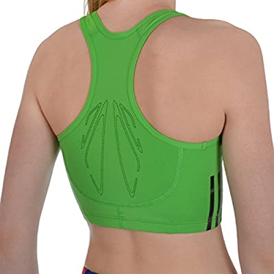 adidas Performance Womens Adizero Running Crop Top - Green from adidas