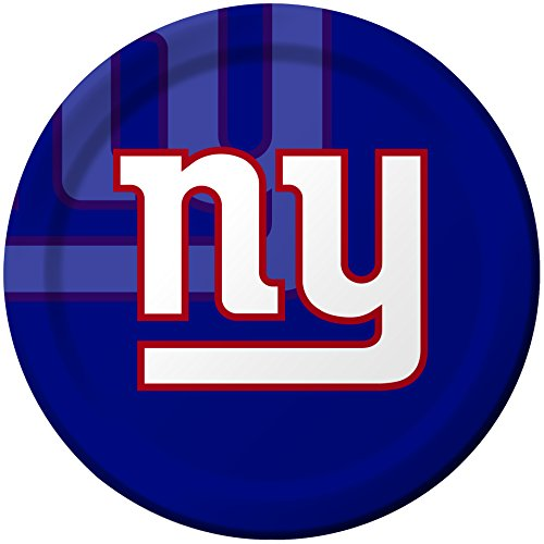 Creative Converting 8 Count New York Giants Paper Dinner Plates (Giants Tickets 2015 compare prices)