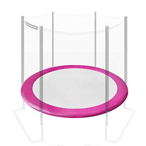 Ultrasport - Cubierta para borde de cama elástica, grosor 20 mm, 305 cm, rosa