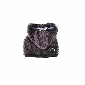 Puppy Angel Plaid JQD Vest Harness, L, Gray