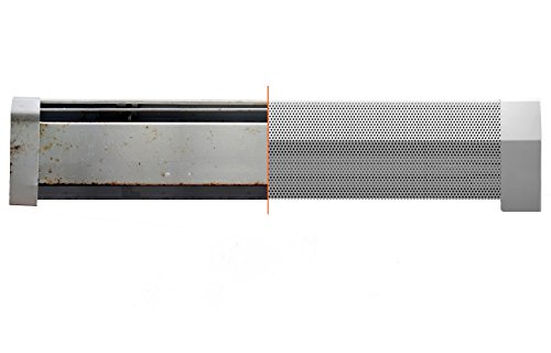 Baseboarders Baseboard Heater Cover Straight Kit 4ft Length (Radiator Cover Baseboard compare prices)