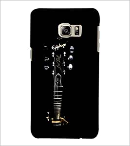 PrintDhaba Fret Board D-2022 Back Case Cover for SAMSUNG GALAXY NOTE 5 (Multi-Coloured)