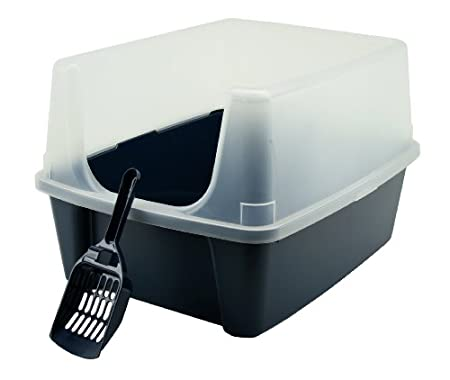 open litter box