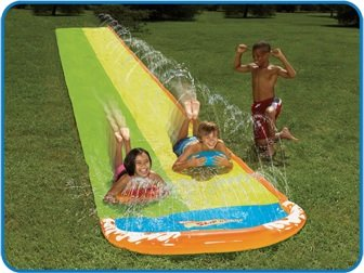 Wham-o Slip N Slide Wave Rider Double With 2 Slide Boogies(Discontinued by manufacturer) (Best Slip N Slide compare prices)