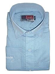 Lords Wear Men's Formal Shirt (LordsWear_Sky Blue_38)
