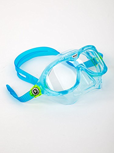 Aqua Sphere Sphera Reef Junior Toddler Swim & Snorkel Mask Aqua back-1027880
