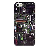 magic.Mainboard Pattern Transparent Frame Hard Case for iPhone 5/5S Reviews