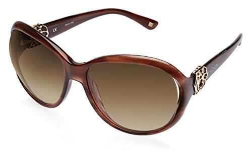 Escada Escada Oversized Sunglasses (Brown) (SES 221 06DB CC 61)