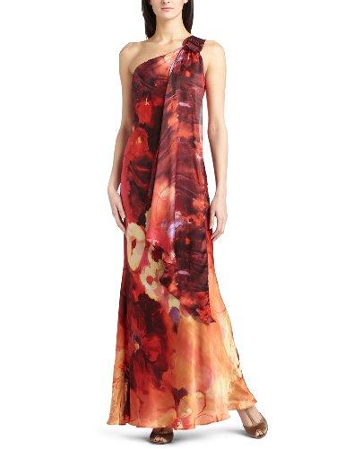 ABS Allen Schwartz Women's Belt Strap Printed Gown