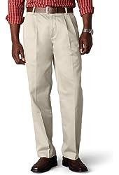 Dockers Men's Signature Khaki Big & Tall Pleated Pant