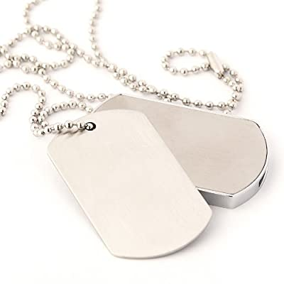 Dog Tags USB Memory Stick 8GB - Flash Drive/School/Novelty/Gift by Memory Mates