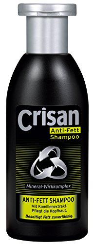 크리산 Crisan Anti-Fett Shampoo für fettiges Haar, 6er Pack (6 x 250 ml)-500005