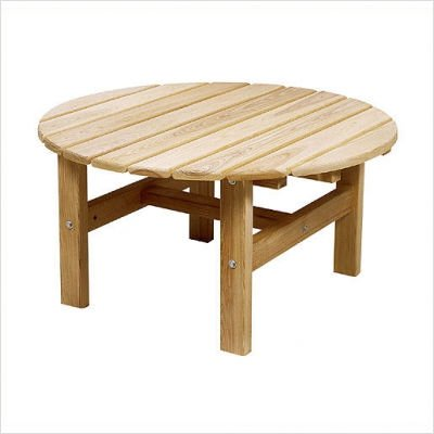 """Cypress 33"""" Round Coffee Table"""