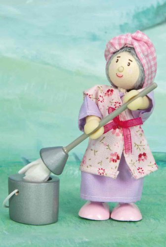 Budkins Mrs. Mop The Cleaning Woman Figure