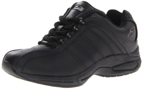 Dr. Scholl's Women's Kimberly Slip Resistant Work Shoe,Black,6.5 M US