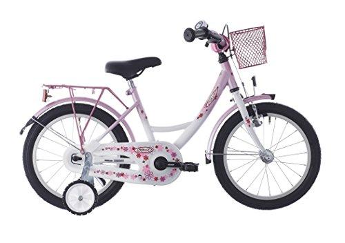 Vermont Girly - Vélo enfant 16 pouces - blanc/rose 2016 velo enfant 12 pouces