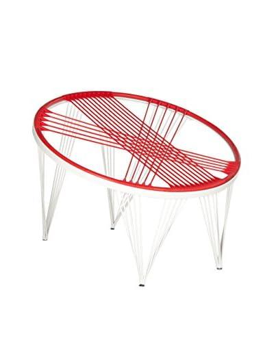 Safavieh Launchpad Chair, Red/White