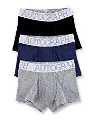 3 Pack Autograph Cotton Rich Classic Trunks