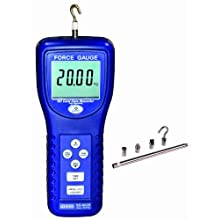 Reed SD-6020 Force Gauge and Data Logger, 20 kg Capacity, 0.01 kg Resolution, +/-5% Accuracy