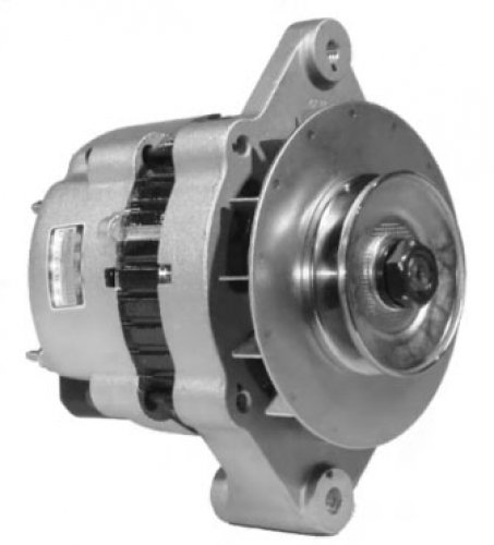 This Is A Brand New Aftermarket Alternator Fits Tennant Street Sweepers With Ford Industrial Engine, 1-V Pulley Mcf00211, A000B0471K, Ac155515, Ta000B32201