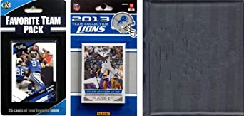 NFL Detroit Lions Licensed 2013 Score Team Set and Favorite Player Trading Card Pack by C&I Collectables