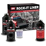 Sem Rock-it Truck Bed Liner Black Kit with Gun