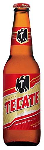 メキシコ産 TECATE(テカテ) ビール 355ml瓶×24本セット