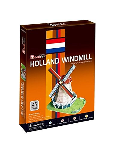"CubicFun 3D Puzzle C-Series ""Holland Windmill"""