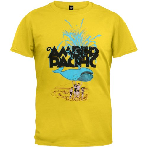 Amber Pacific - Boys Beached Whale Youth T-Shirt Youth Large Yellow