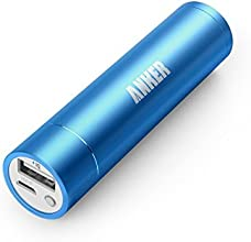 Anker  - Batería Externa Astro mini de 2da generación, 3350 mAh, con tecnología PowerIQ, compatible con iPhone 6, iPhone 6 Plus, iPad Air 2, mini 3, Galaxy S6, Galaxy S6 Edge, azul