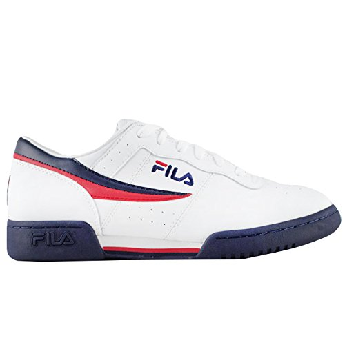 Fila Men's Original Vintage Fitness Shoe,White/Navy/Red,11 M (Fila Shoes compare prices)