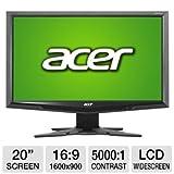 Acer G205HV bd 20″ W 1600×900 5ms DVI LCD Monitor