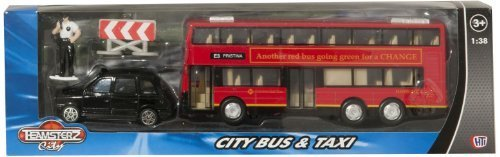 teamsterz-druckguss-u-bahn-doppeldecker-london-im-stil-btitish-bus-und-schwarz-hackney-taxi-modellba