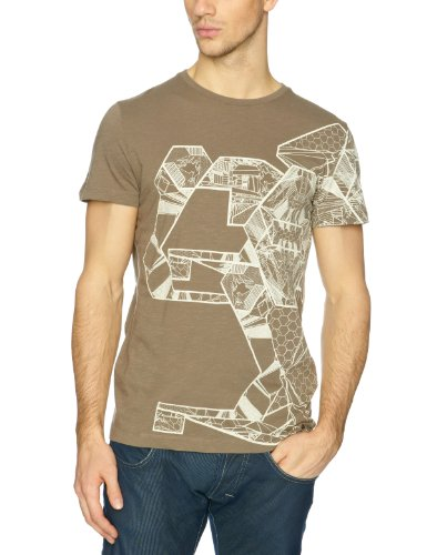 Puma Men's Puma Rudolf Dassler Crew Neck Graphic T-Shirt Musk 552607-01 Large