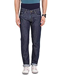 Dais Dark Blue Coloured 100% Cotton Jeans 32